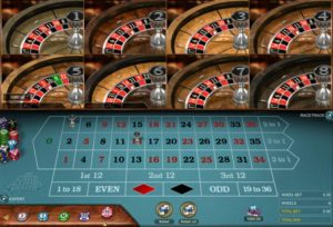 multi wheel roulette microgaming