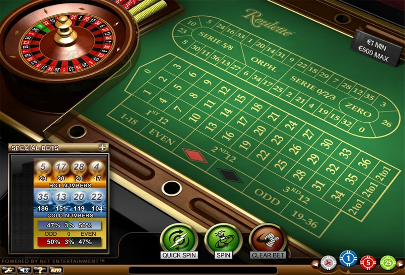 Roulette online free no limit