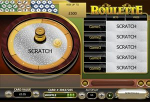Roulette Scratch by Playtech