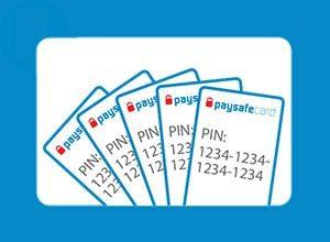 paysafecard vouchers