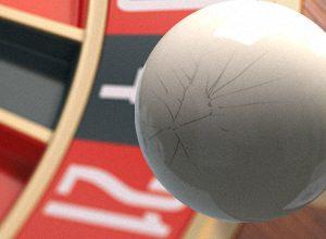 Roulette deformed ball